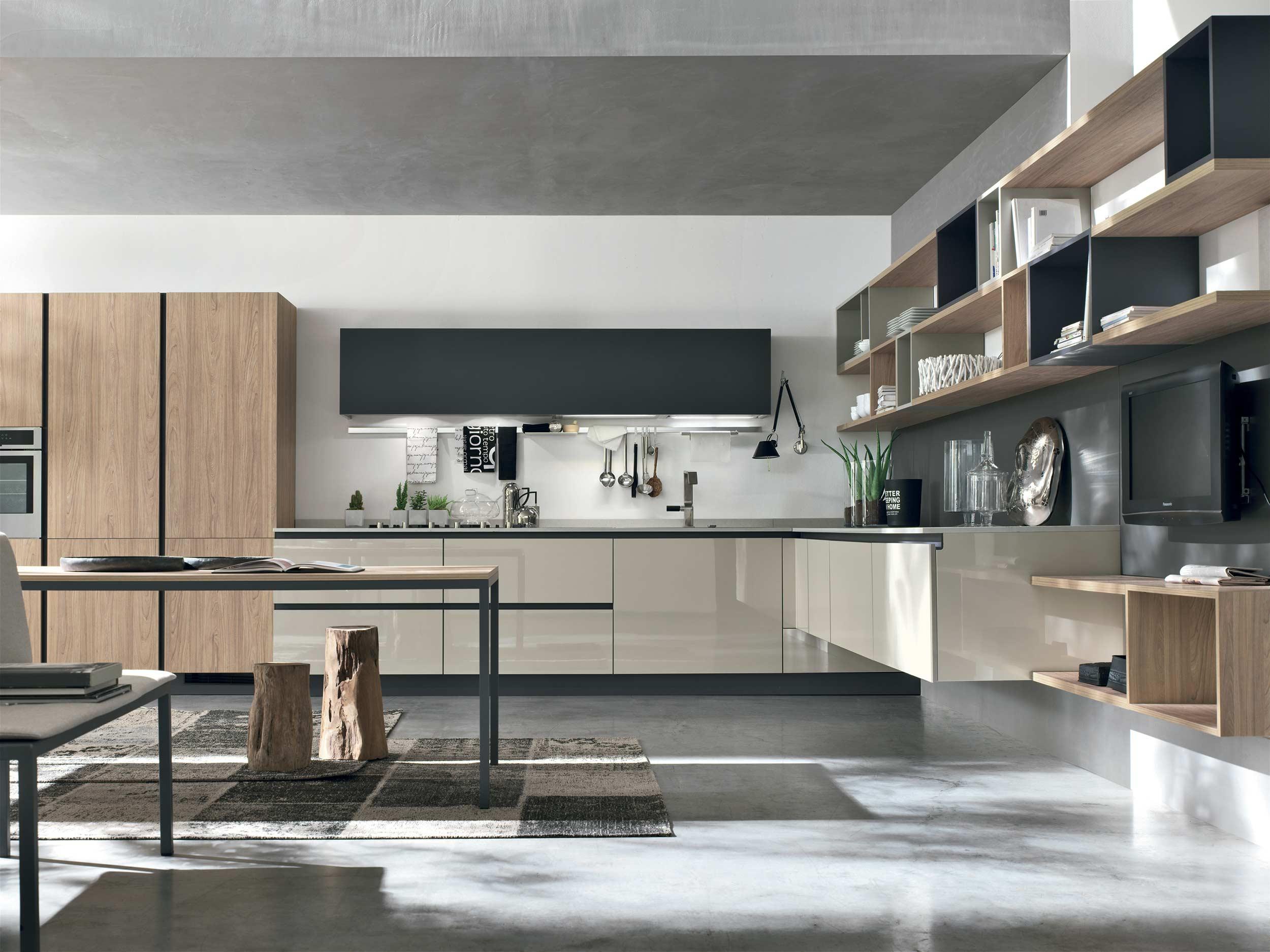 immagini cucine colorate: cream table il tavolo allungabile ... - Cucine Colorate Roma