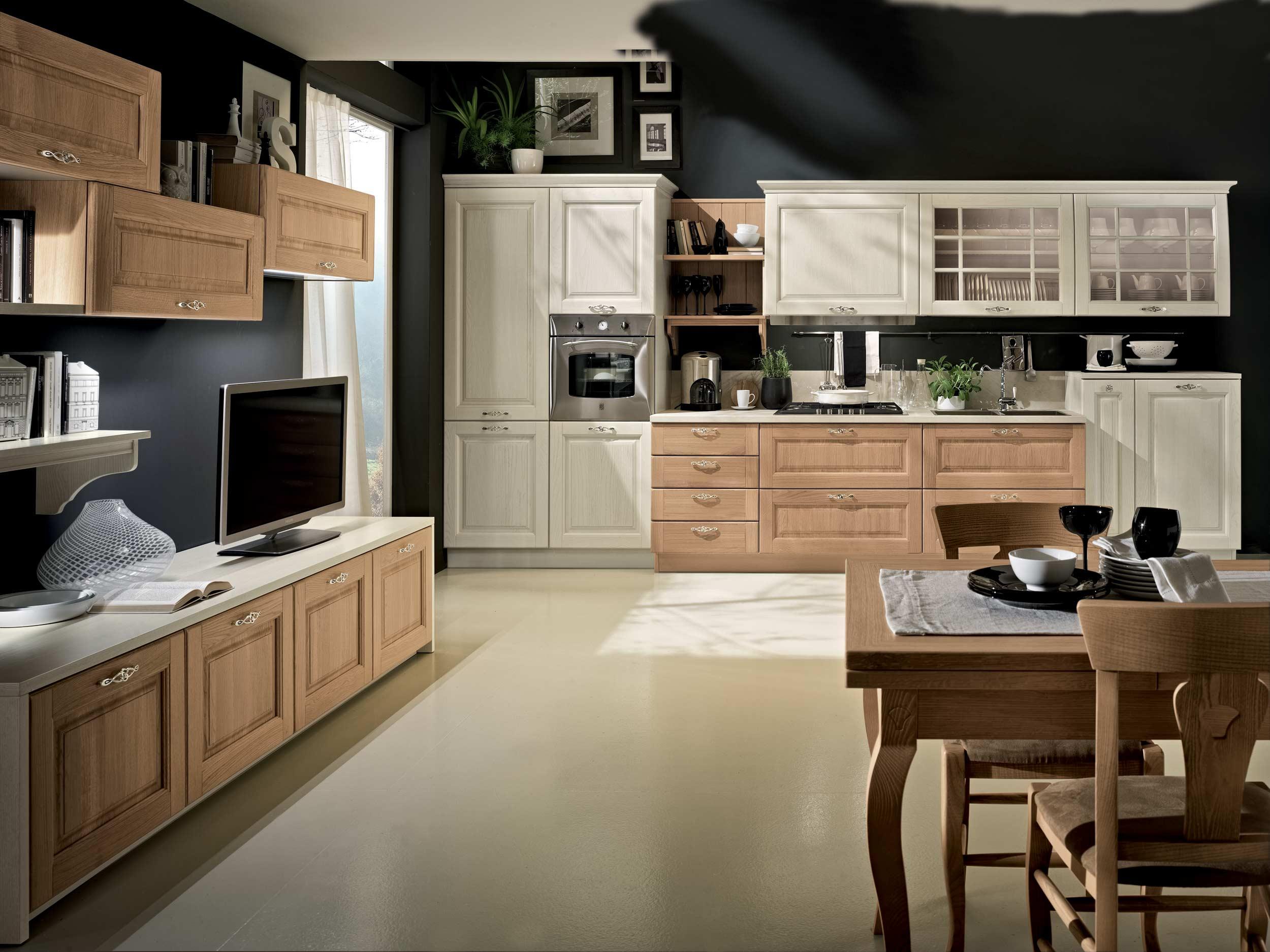 Cucina bolgheri stosa cucine ravenna - Cucine in rovere ...