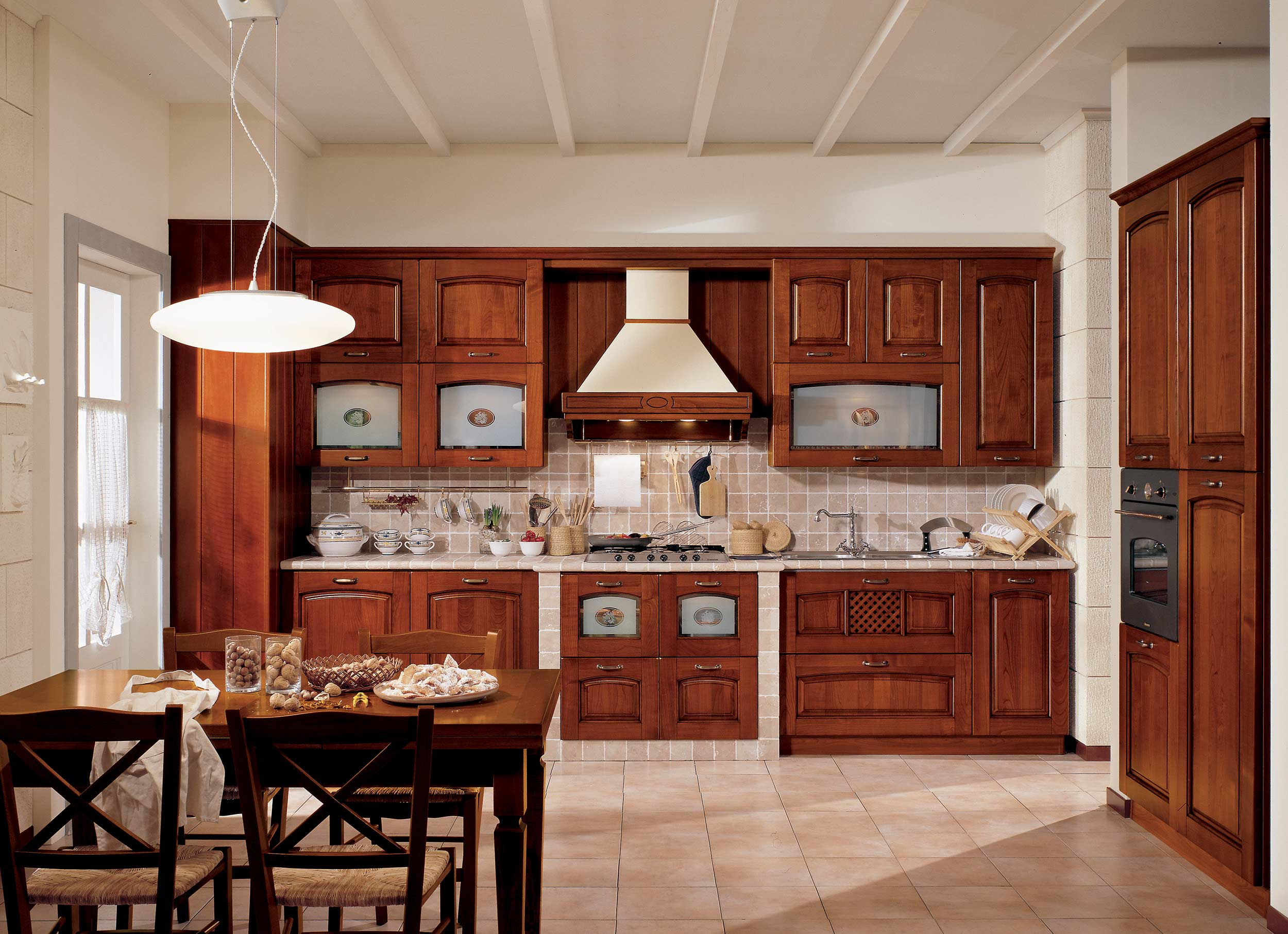 Cucina ginevra stosa cucine ravenna - Cucine in ciliegio moderne ...